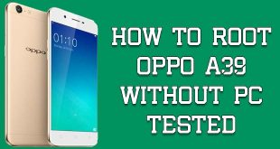 Root Oppo A39 Without PC