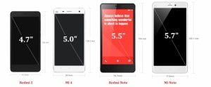 overview smartphone specifications