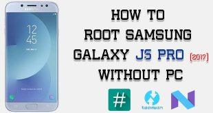 Root Samsung Galaxy J5 Pro Without PC