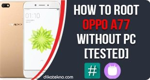 Root Oppo A77 Without PC