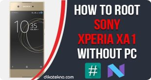 Root Sony Xperia XA1 Without PC