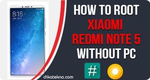 Root Xiaomi Redmi Note 5 Without PC