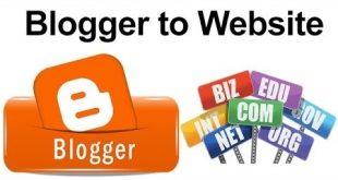 mengganti blogspot.com menjadi tk