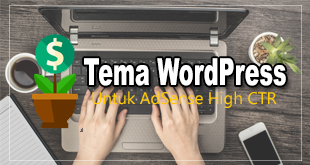 tema wordpress adsense high ctr