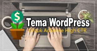 tema wordpress adsense high ctr