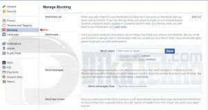 block apps games notification facebook