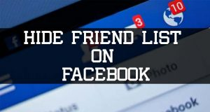 ide friends list on facebook
