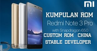 rom redmi note 3 pro cusrom global china