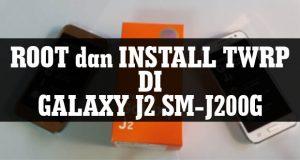 root install twrp di galaxy j2