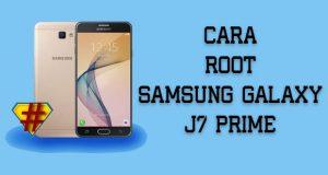 Cara Root J7 Prime
