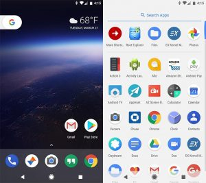fitur android o