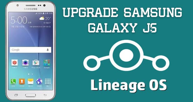 Upgrade Samsung Galaxy J5 ke Nougat