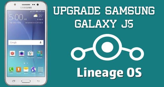 Upgrade Samsung Galaxy J5 ke Nougat 7.1.2 - Dika Tekno