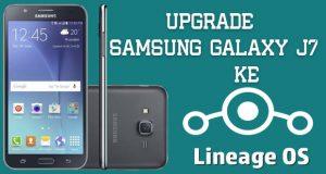 Upgrade Samsung Galaxy J7 ke Nougat