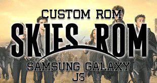 Custom Rom SkiesROM UX Final Untuk J5