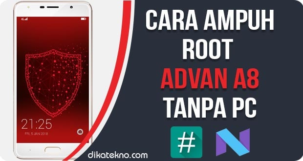 Root Advan A8 Tanpa PC