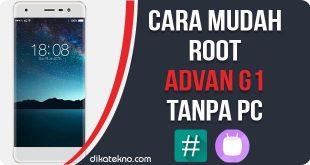 Root Advan G1 Pro Tanpa PC