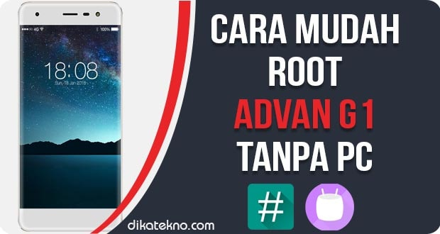 Root Advan G1 Pro Tanpa PC