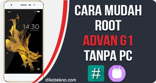 Root Advan G1 Tanpa PC