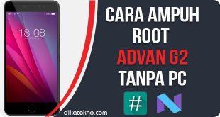 Root Advan G2Tanpa PC