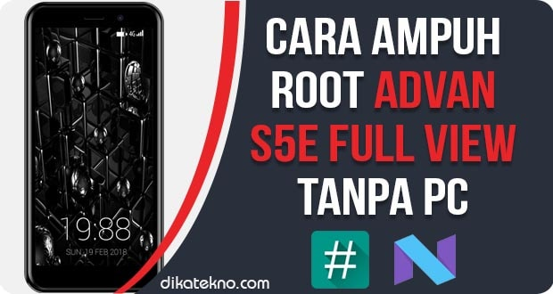 Root Advan S5E Full View Tanpa PC