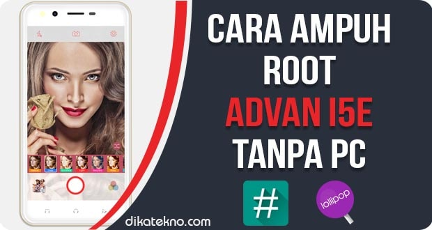 Root Advan i5E Tanpa PC