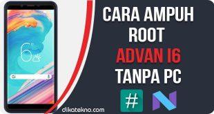 Root Advan i6 Tanpa PC