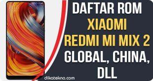 ROM Xiaomi Mi Mix 2