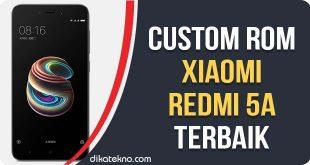 Custom ROM Xiaomi Redmi 5A