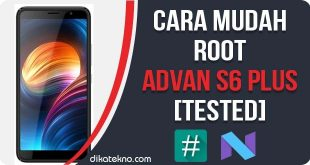 Root Advan S6 Plus Tanpa PC