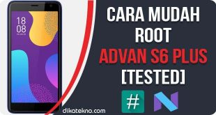 Root Advan S6 Tanpa PC