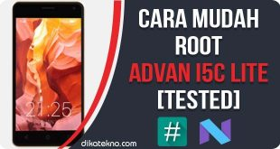 Root Advan i5C Lite Tanpa PC