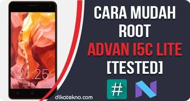 Root Advan i5C Lite Tanpa PC
