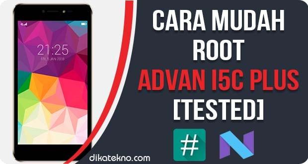 Root Advan i5C Plus Tanpa PC