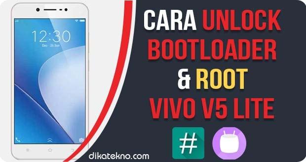 Unlock Bootloader dan Root Vivo V5 Lite