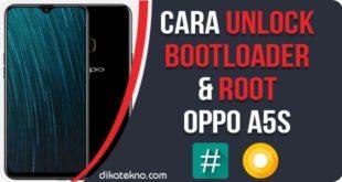 Unlock Bootloader dan Root Oppo A5s
