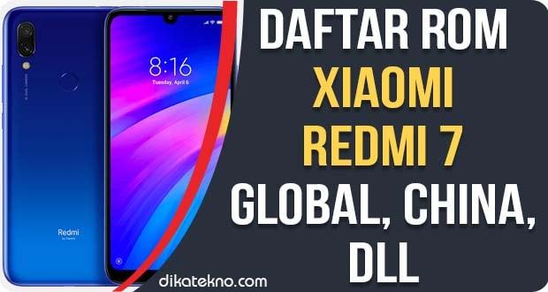 ROM Xiaomi Redmi 7