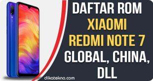 ROM Xiaomi Redmi Note 7