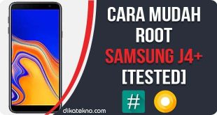 Root Samsung Galaxy J4+ Tanpa PC