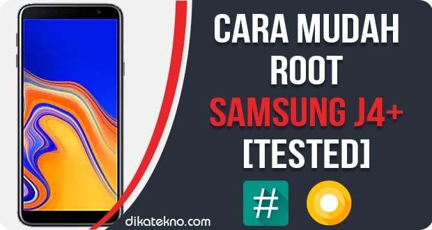 Root Samsung Galaxy J4+ Tanpa PC