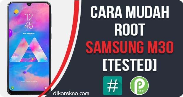 Root Samsung Galaxy M30 Tanpa PC