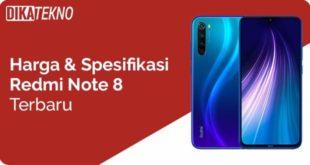 Harga dan Spesifikasi Xiaomi Redmo Note 8