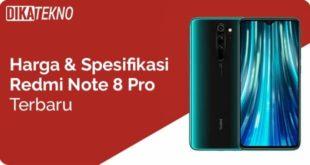 Harga dan Spesifikasi Xiaomi Redmo Note 8 Pro