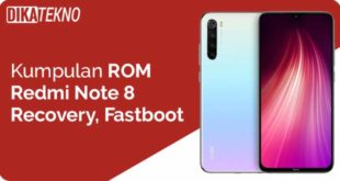 ROM Redmi Note 8