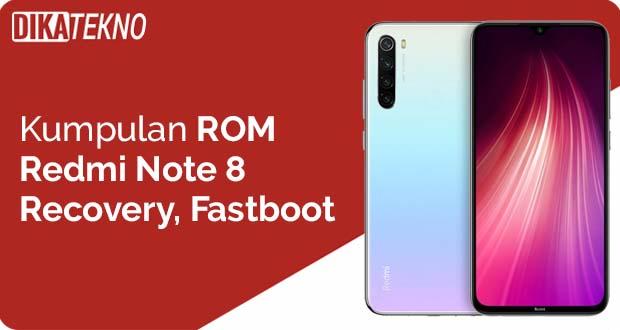 ROM Redmi Note 8