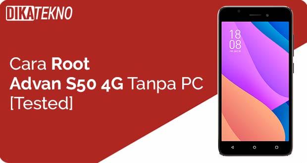 Root Advan S50 4G Tanpa PC
