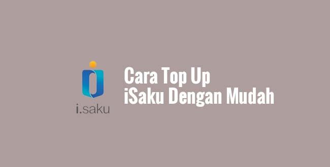 Cara Top Up iSaku