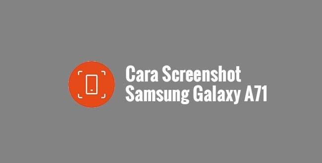 Screenshot Samsung Galaxy A71