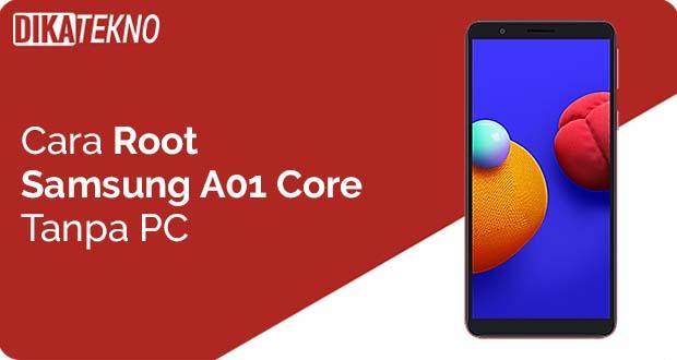 Samsung Galaxy A01 Core Tanpa PC